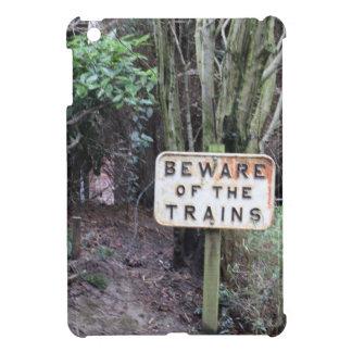 Passen Sie von den Zügen auf! - Strecke Hülle Für iPad Mini