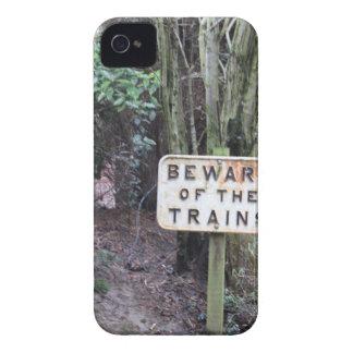 Passen Sie von den Zügen auf! - Strecke iPhone 4 Cover