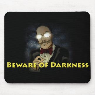 Passen Sie von der Dunkelheits-Logo-Mausunterlage Mousepad