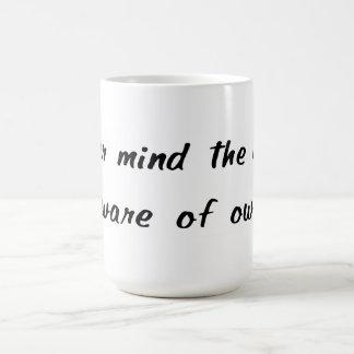 Passen Sie von der Inhaber-Tasse auf Kaffeetasse