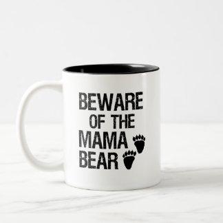 Passen Sie von der lustigen Kaffee-Tasse Mutter Zweifarbige Tasse