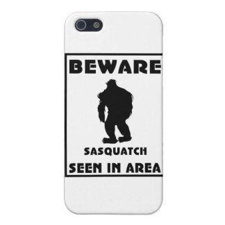 Passen Sie von Sasquatch Plakat auf iPhone 5 Case