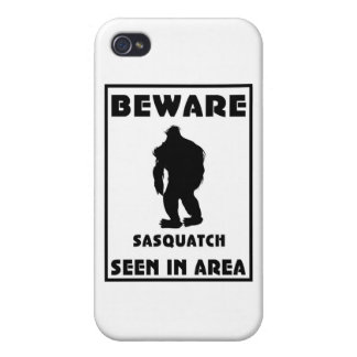 Passen Sie von Sasquatch Plakat auf iPhone 4 Case