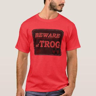 Passen Sie von Trog Zeichen auf T-Shirt