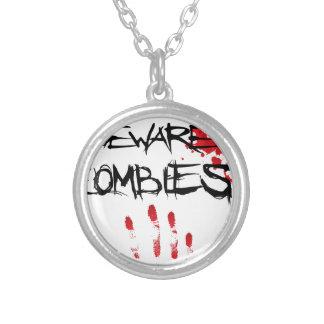 Passen Sie Zombies auf Halskette Mit Rundem Anhänger