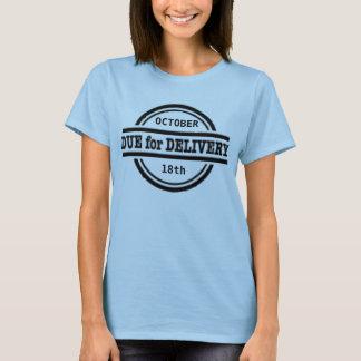 Passend für Lieferungsschwangerschafts-Shirt T-Shirt