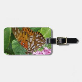Passionsblumen-Schmetterling Gepäckanhänger