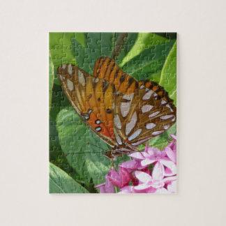 Passionsblumen-Schmetterling Puzzle