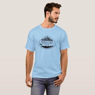 Passout Vashon Insel-T - Shirt, schwarze Tinte T-Shirt