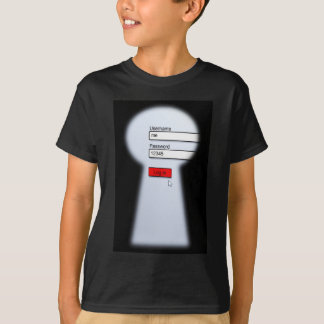 Passwort-Sicherheit T-Shirt