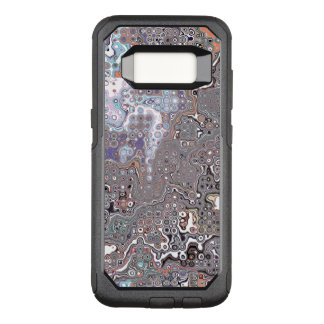Pastell-abstraktes Chaos OtterBox Commuter Samsung Galaxy S8 Hülle