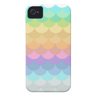 Pastell ausgebogtes iPhone 4 Hüllen