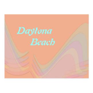 Pastell Daytona Beach Florida Wings Postkarte