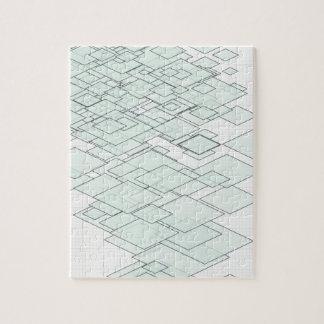 Pastell Diamond Graph paper SIRAdesign Puzzle