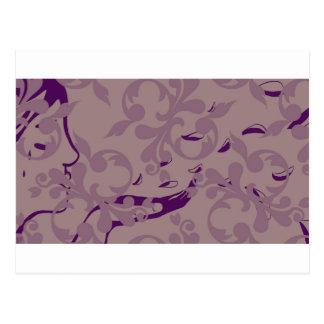 Pastell-Risse Postkarte