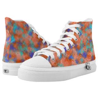 Pastell-Schnur-Theorie v2 Hoch-geschnittene Sneaker