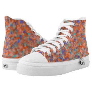 Pastell-Schnur-Theorie v2 klein Hoch-geschnittene Sneaker