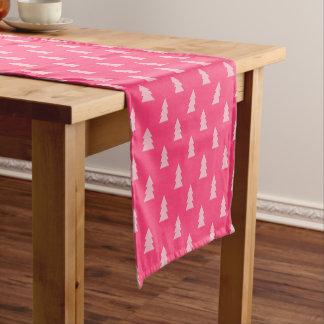 Pastell- und heißes Rosa des niedlichen Kurzer Tischläufer