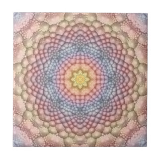 Pastell-Vintage Kaleidoskop-Keramik-Fliesen Keramikfliese