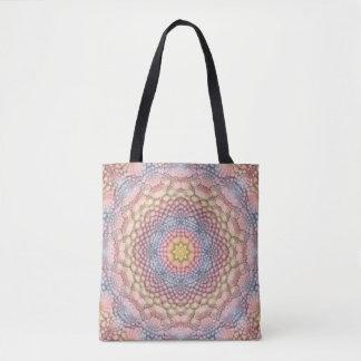 Pastell-Vintage Kaleidoskop-    Taschen-Tasche Tasche