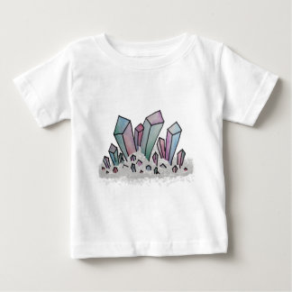 PastellAquarell-Kristall-Gruppe Baby T-shirt