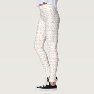 Pastellblasen-Entwurfs-Gamaschen Leggings