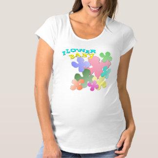 PastellBlumen-Collage BLUMEN-BABY Hemden