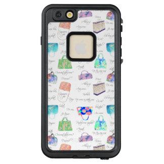 PastellblumenAquarell-Illustrations-Typografie LifeProof FRÄ' iPhone 6/6s Plus Hülle