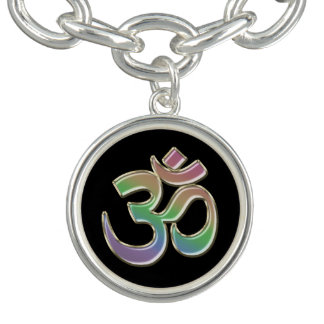 Pastellcharme und Armband regenbogen OM-Symbol-V2