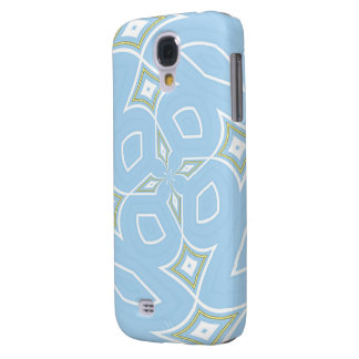 Pastellentwurf Samsung des blauen Sternes rufen Galaxy S4 Hülle