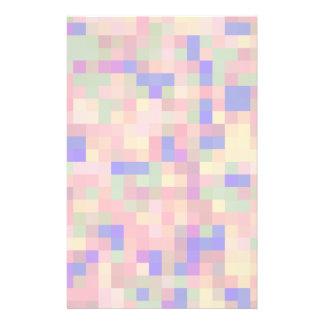 Pastellfarbabstrakter Entwurf 14 X 21,6 Cm Flyer