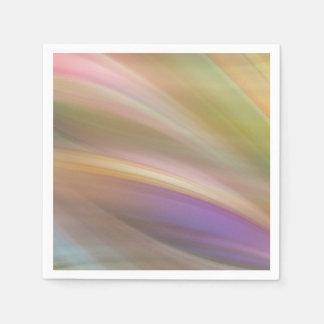 Pastellfarben abstrakt papierserviette