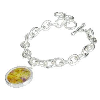 Pastellfarben des gelben Charme-Armbandes Armband