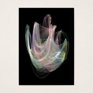 PastellFraktal ACEO öffnen Ausgabe Visitenkarte