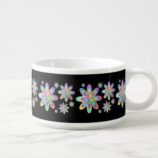 PastellFraktal-Girly Blumen Schüssel