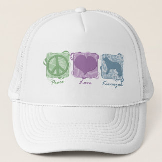 Pastellfrieden, Liebe und Kuvaszok Truckerkappe