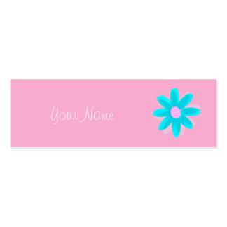 Pastellgänseblümchen Visitenkarte