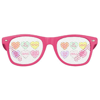 Pastellgesprächs-Süßigkeits-Herz-Valentinstag Partybrille