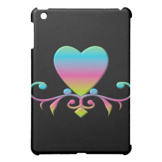 Pastellherz und blühen iPad mini hülle