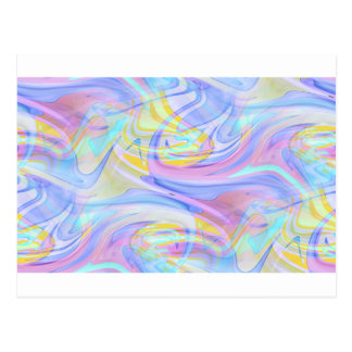 Pastellhologramm Postkarte