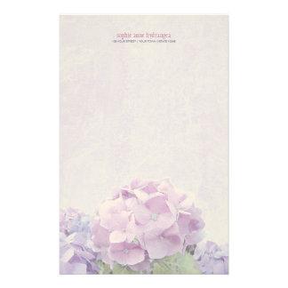 PastellHydrangeas Briefpapier