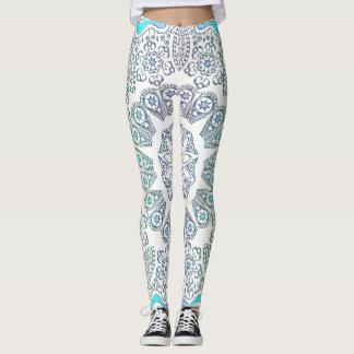 PastellMandala auf Weiß oder irgendeiner Farbe Leggings