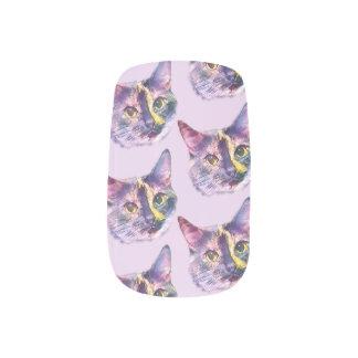 PastellMiezekatze-Katze Minx Nagelkunst