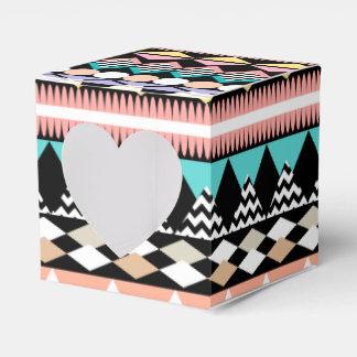 PastellParty-Azteke-Muster Geschenkschachtel