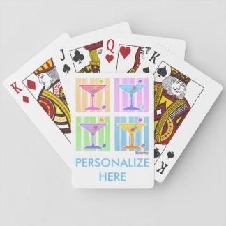 PASTELLPop-KUNST-MARTINIS Spielkarten