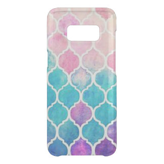 PastellQuatrefoil Muster Get Uncommon Samsung Galaxy S8 Hülle