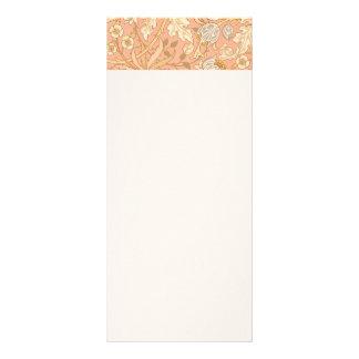 Pastellrosa-Blumen Werbekarte