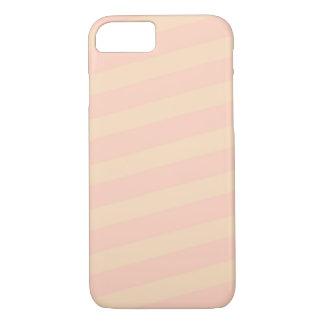 Pastellrosa/gelber Telefon-Kasten durch notchic iPhone 8/7 Hülle