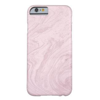 Pastellrosa-Marmor-Telefon-Kasten Barely There iPhone 6 Hülle