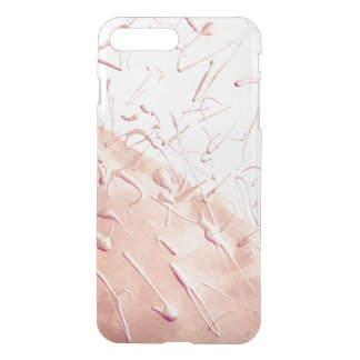 PastellRosen-Goldregen iPhone 8 Plus/7 Plus Hülle